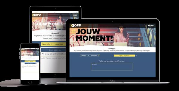 Online-Afspraakmodule